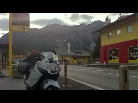 Motorcycle Europe Tour 2010 on a BMW K1300s