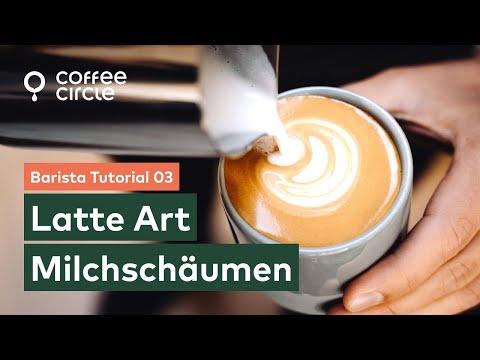 Barista Tutorial: 3. Das Latte Art Milchschäumen
