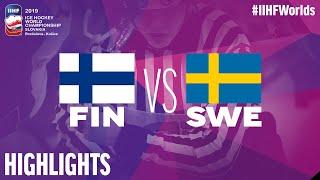 Finland vs. Sweden - Quarter-final - Game Highlights - #IIHFWorlds 2019