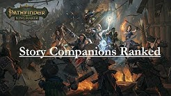 Pathfinder: Kingmaker--Story Companions Ranked