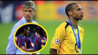 Trận chung kết Cúp C1 hay nhất trong lịch sử giữa Arsenal và Barcelona