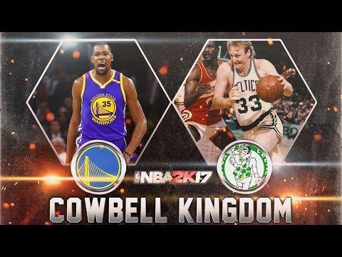 '85-'86 Celtics vs '16-'17 Warriors NBA 2K Simulation