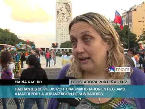 habitantes-de-villas-porteñas-marcharon-en-reclamo-a-macri-por-urbanización-de-sus-barrios