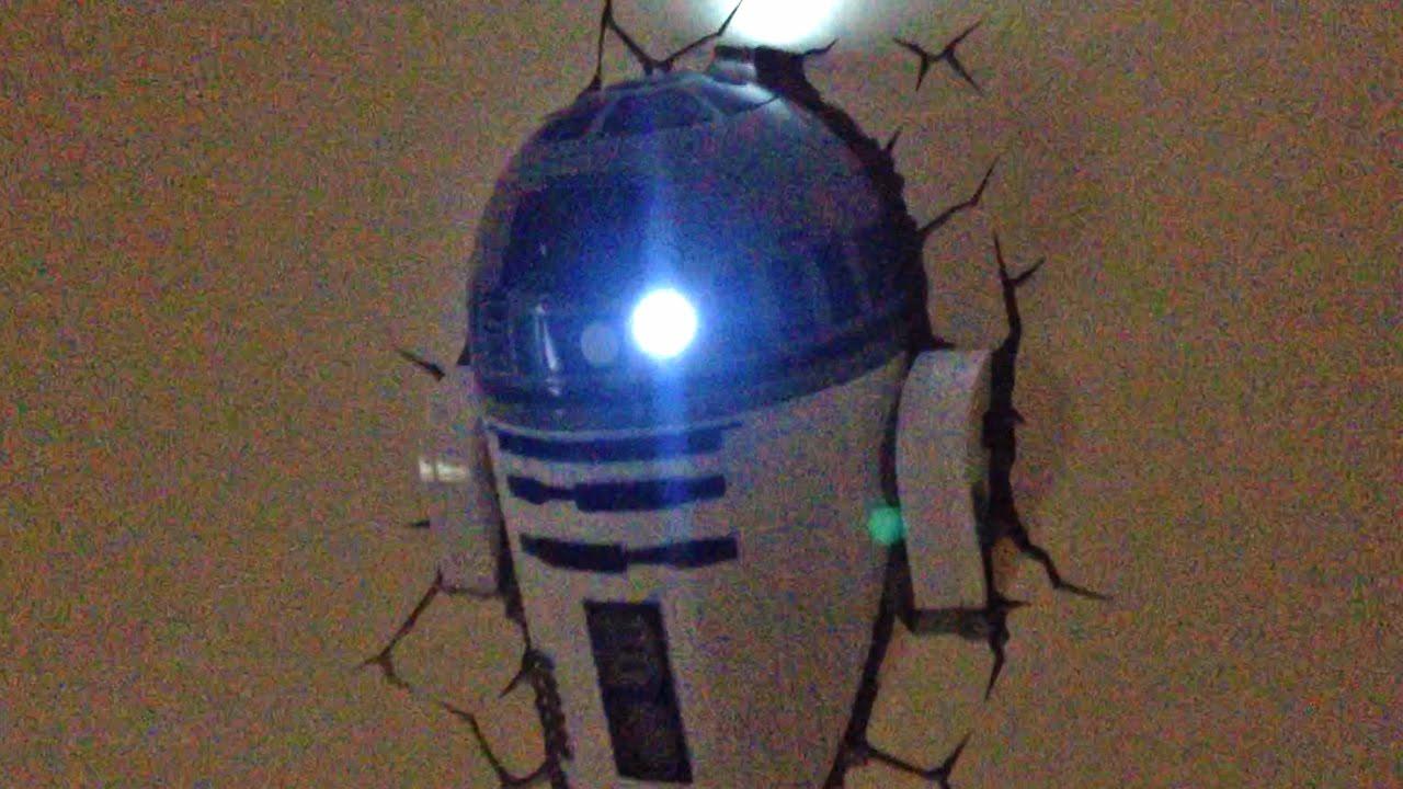 Attractive R2D2 Lamp