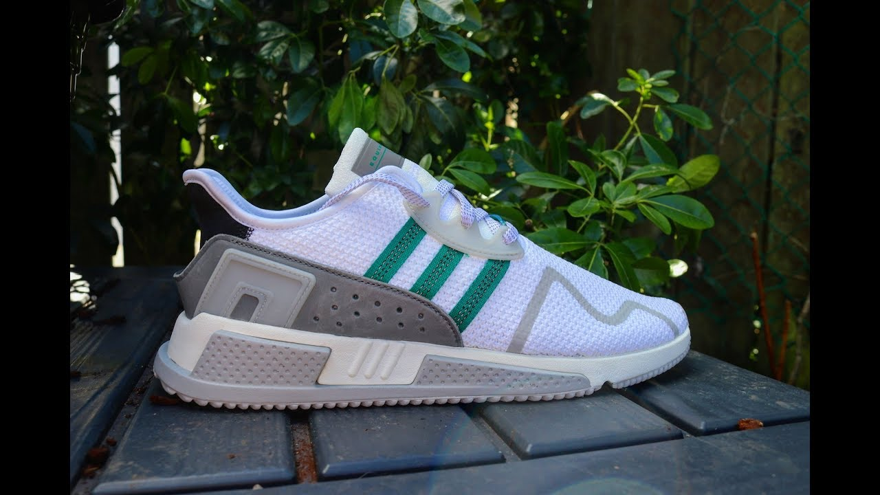 47616b476300 Adidas EQT Cushion ADV  Sneaker Review - YouTube