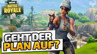 Geht der Plan auf? - ♠ Fortnite Battle Royale ♠ - Deutsch German - Dhalucard