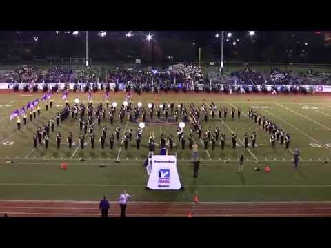 Central Islip High School Marching Band performing at the 2014 Newsday Marching Band Festival
