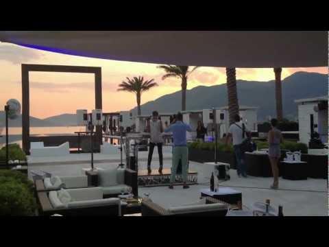 Travel Videos - Purobeach Club in Porto Montenegro