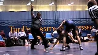 Matt Pitts (UTC) vs Anderson Wrestling