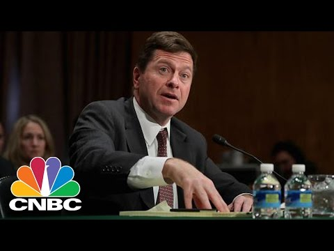 President Donald Trump's SEC Pick Jay Clayton Faces Questions On Capitol Hill  | CNBC