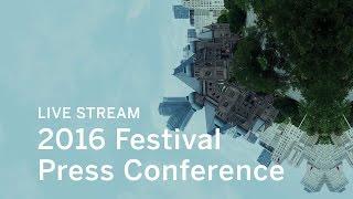 Toronto International Film Festival Press Conference 2016