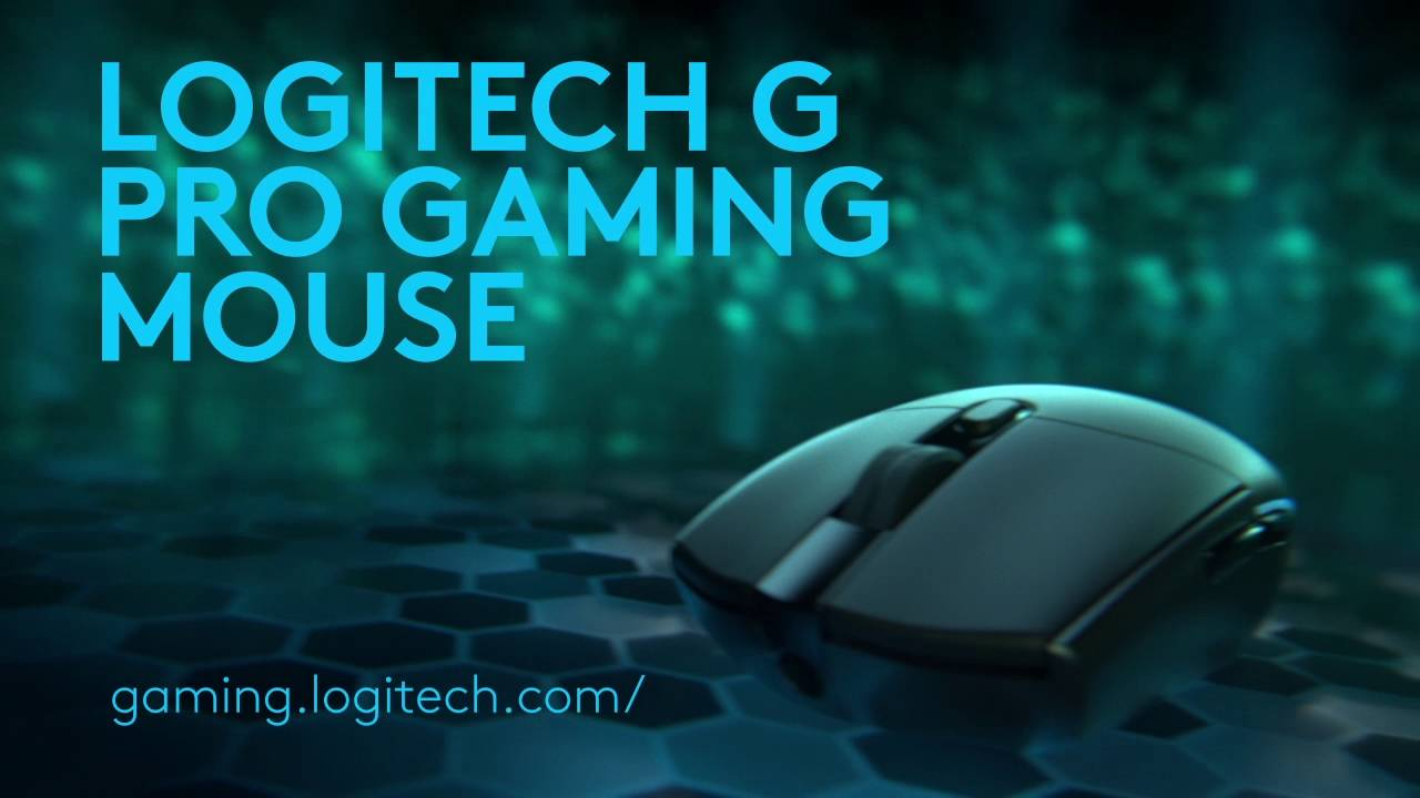 Logitech Pro Gaming Mouse for Esport Pros