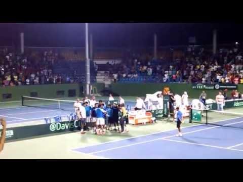 Somdev Devvarman Winning Moments - Davis Cup 2014