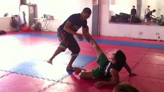STEP BY STEP PROCEDURE ON HOW TO TAKE DOWN (MARTIAL ARTS)