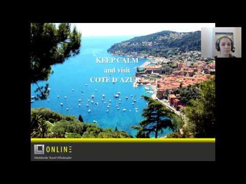 Лазурный берег Франции - Cote d`Azur