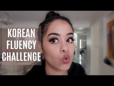STARTING AN INTENSE KOREAN LANGUAGE CHALLENGE! (DAY 1)