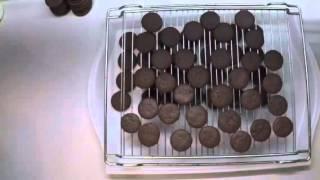 Как приготовить домашнее шоколадное печенье ОРЕО. Мастер-класс(Рецепт пченья., 2016-01-11T11:53:57.000Z)