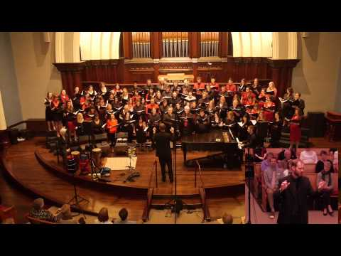 PSU University Choir - A Red, Red Rose, arr. James Mulholland