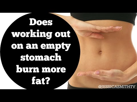 Does working out on an empty stomach burn more fat?
