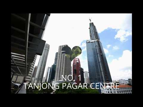 TOP 10 TALLEST BUILDINGS IN SINGAPORE 2016 新加坡十大最高建筑物