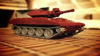 Transformers Warpath vs Astrotrain Stop Motion