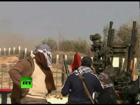 Libya War Zone: Video of gunfights, shelling by Gaddafi forces