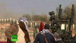 Libya War Zone: Video of gunfights, shelling by Gaddafi forces
