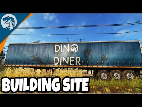 DINER CONSTRUCTION SITE PREP | Rappack Farms #38 | Farming Simulator 17 Multiplayer Gameplay