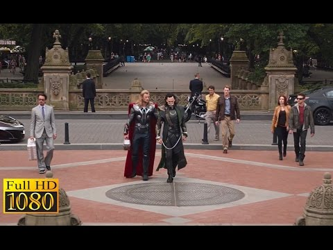 The Avengers (2012) - Ending Scene (1080p) FULL HD