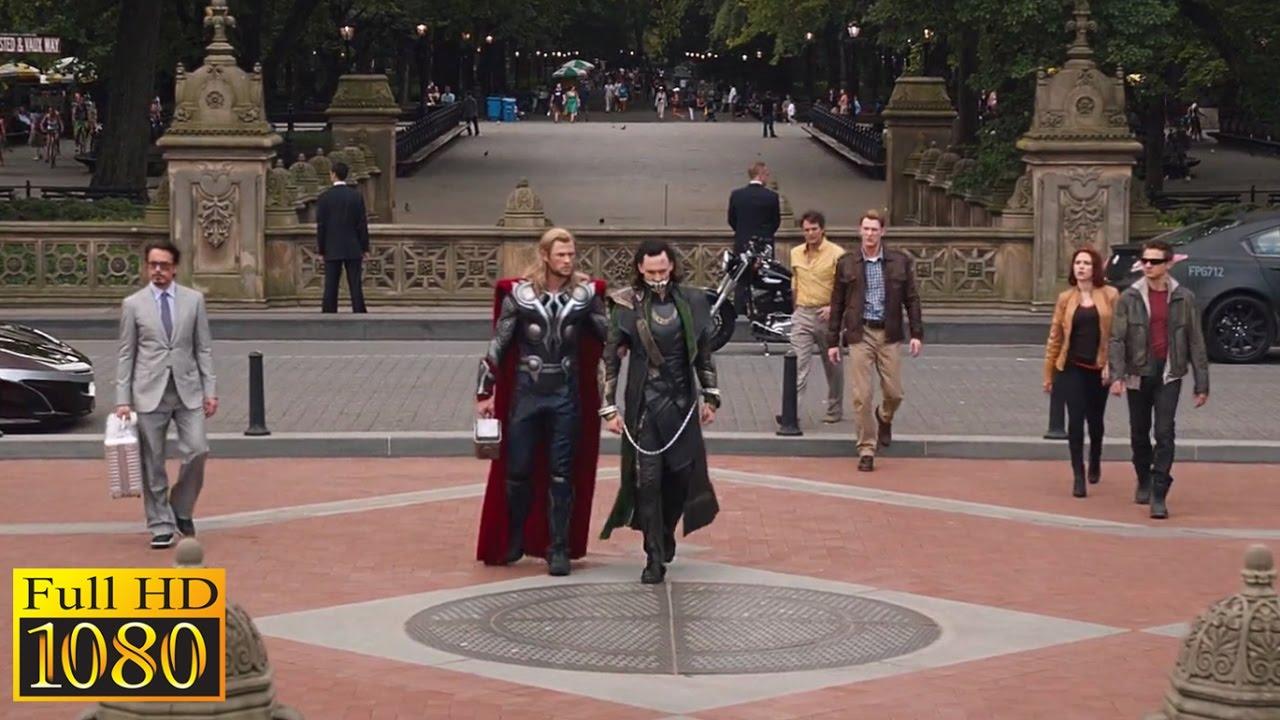 Download The Avengers (2012) - Ending Scene (1080p) FULL HD