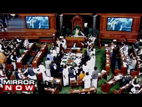 AIADMK's 24 Members suspended for disrupting the parliament over Cauvery issue