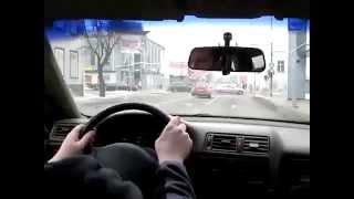 Вождение в городе)