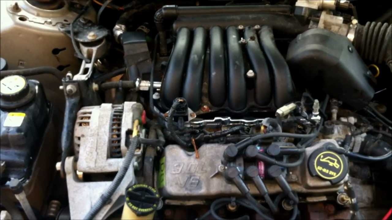 ford tauru heater hose diagram [ 1280 x 720 Pixel ]