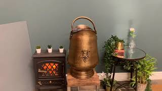 """""""Highham Square"""" Antique Styled Coal Scuttle or Bucket"""