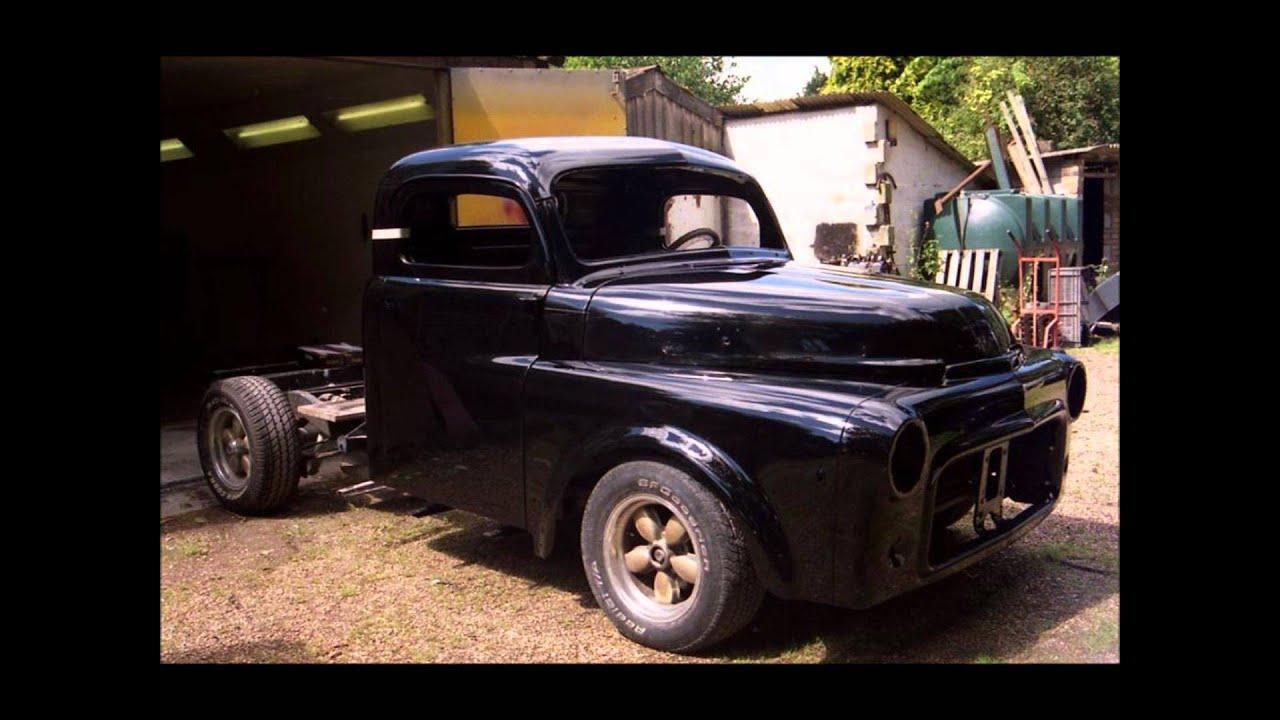 Custom 52 Dodge Hot Rod Truck Build YouTube