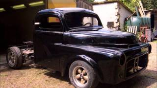 Custom '52 Dodge Hot Rod Truck Build