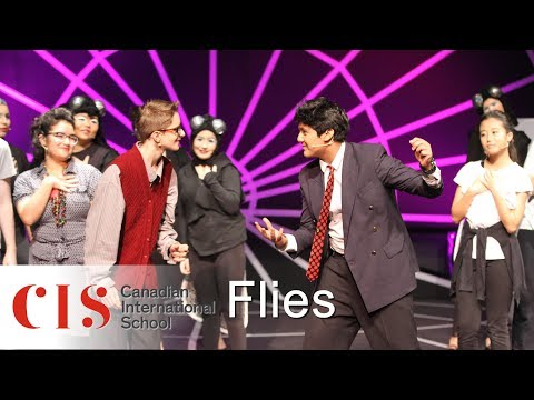 Flies | secondary theatre performance | Canadian Internation