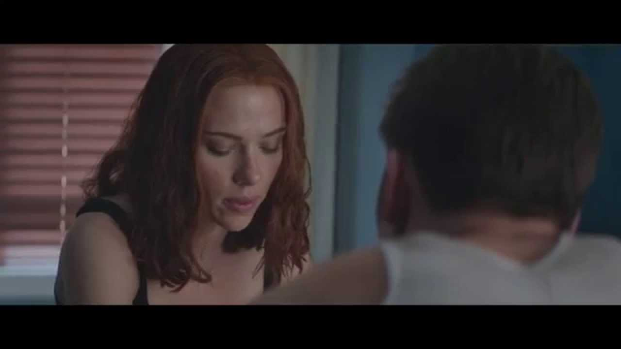 Captain America The Winter Soldier Black Widow Kiss | www ...