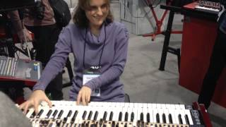 Rachel Flowers Plays Incredible Psychedelic Prog on Organ at 2014 NAMM Show