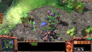 ROOTDestiny (Z) vs. MattDamon (T) - Starcraft 2 Ladder