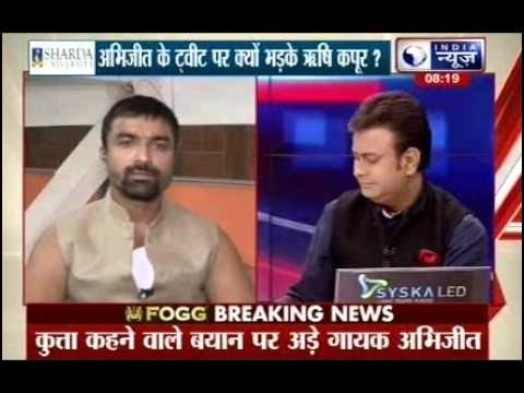 Badi Bahas: Rishi Kapoor slams Abhijeet & Ajaz Khan for insensitive remarks on Twitter