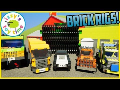 Cars  | BRICK RIGS TIME! LEGO Vehicle Destruction! |