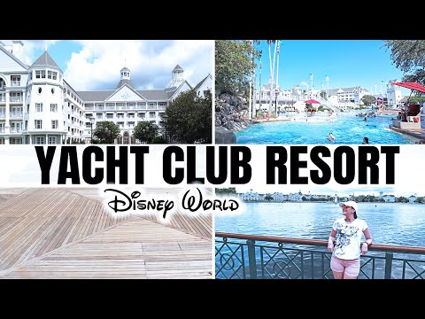 DISNEY'S YACHT CLUB RESORT TOUR | Vlog 2018
