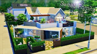 Sweet Family Home | Eco Lifestyle | Stop Motion Sims 4 | No CC