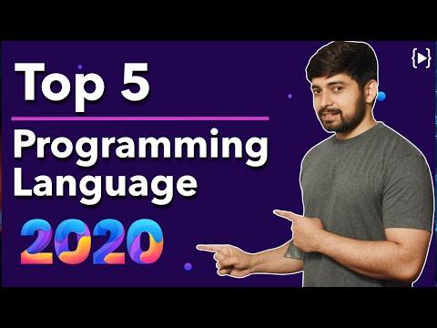 Top 5 programming language in 2020