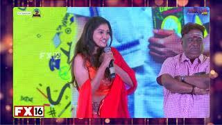 Cute SAYYESHAA speech   GHAJINI KANTH movie press meet