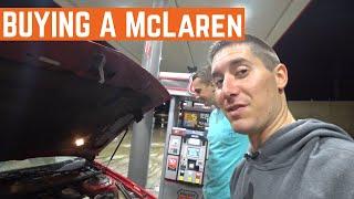 PICKING UP The Hoovies Garage MCLAREN