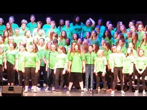 Sashabaw Middle School End of Year Choir Concert 2018(1)