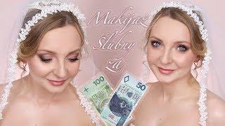WYZWANIE ! Makijaż ślubny za 150 zł wykonany kosmetykami z drogerii Hebe