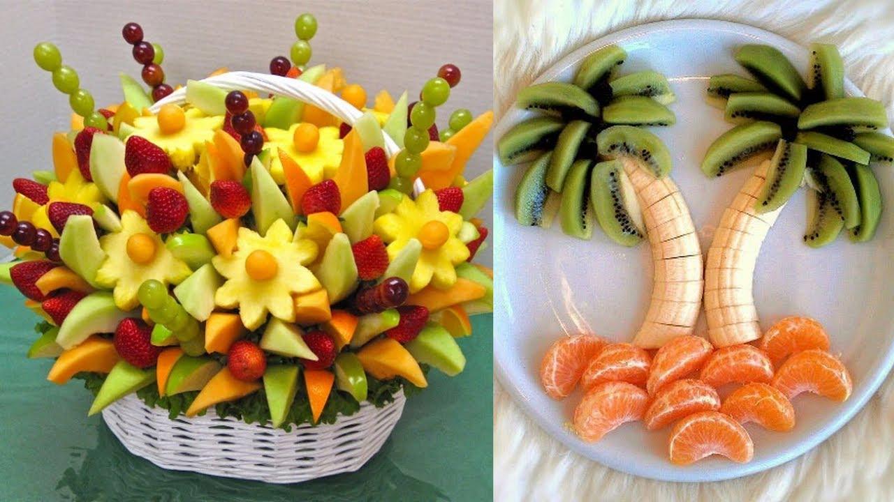 Fruits decoration for wedding  fruits plate decoration